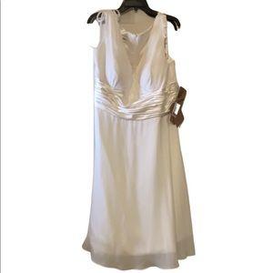 🆕Wedding Dress White NWT 22W